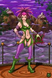 Outcast Odyssey Witch by K-bron