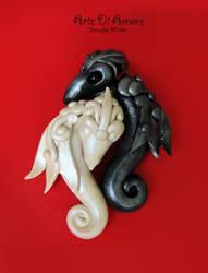 Interlocking Dragons by ArteDiAmore
