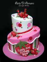 Strawberry Cake by ArteDiAmore