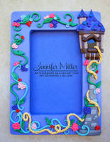 Rapunzel Picture Frame by ArteDiAmore