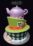 Alice in Wonderland Cake by ArteDiAmore