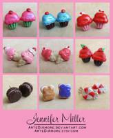 Sweet Treats Earrings by ArteDiAmore