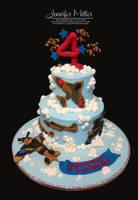 Plane Cake by ArteDiAmore