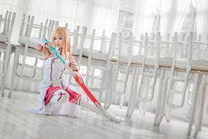 Asuna, Sword Art Online by hoojv