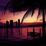 sun goes down. by simoendli