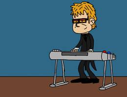 Loud House Caricatures: Elton John by TeagBrohman15