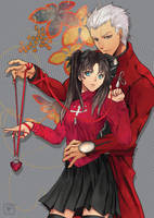 FSN - Red String of Fate by shuu-washuu