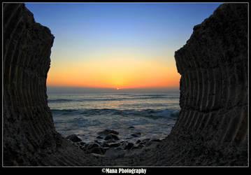Sunset Bowl by manaphoto