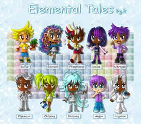 Elemental Tales (Pg. 2 of 5) by BakerChemi