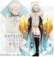 [AUCTION] Kataliel #01 [CLOSED] by Sui-sen