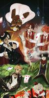 Yuri on Ice : Alice in wonderland by Sui-sen