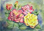 In the Rose Garden by IvieMoon