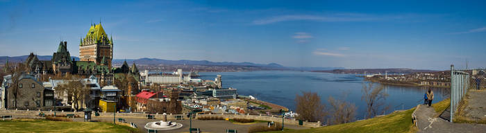 Quebec Panorama II by Rubus65