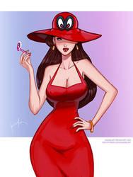 Mario Odyssey by KannelArt