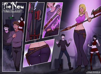 The New Vampire Slayer by KannelArt