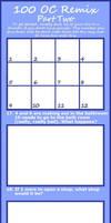 100-OC-REMIX Challenge Pt2 by Anasatcia