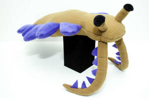 Anomalocaris Plush in olive by Paleogirl