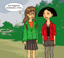Daria and Jane by TeamSmithy