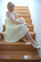 Yellow Dress 5 by AmethystDreams1987