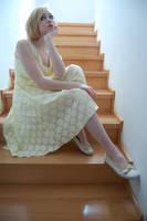 Yellow Dress 6 by AmethystDreams1987