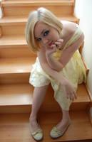 Yellow Dress 10 by AmethystDreams1987