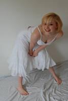 Girl in White 1 by AmethystDreams1987