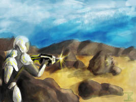 Gunslingers by Sciocont