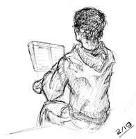 Self-portrait by Sciocont