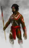 Tribal Warrior by Sciocont