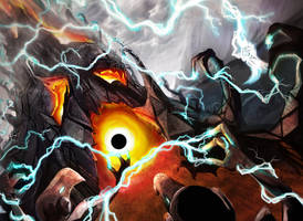 Darksteel Reactor by alienomega
