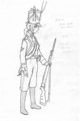 Revised Austrian Guard by The-King-in-Grey