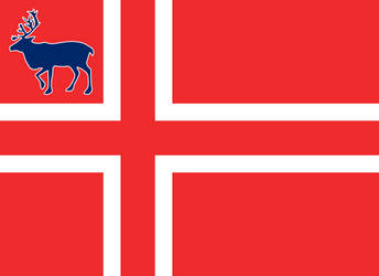 Flag of Svalbard by RandomGuy32