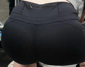 Butt of Davina McCall by TrevLafoe
