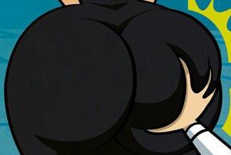 Butt pinch by TrevLafoe
