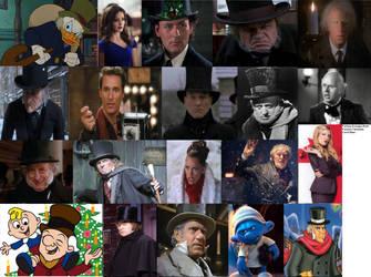 Various Scrooges by TrevLafoe