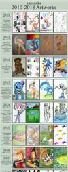 2010-2018 Artworks by sapsanka