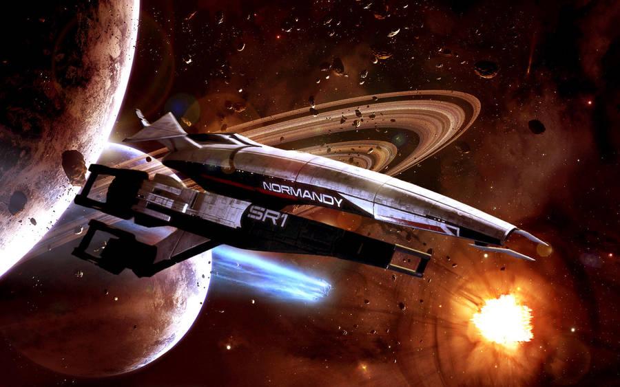 Ssv Normandy Sr 2 18 Ship Replica: Mass Effect 3 By BigBoss741 On DeviantArt