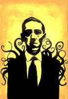 H.P. Lovecraft [dedo9] by aberrentideals