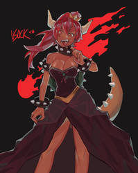 Bowsette by vSock