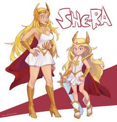 She Ra (+ Smol Ra) by vSock