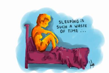 Waste Of Time by sverigeundschweden