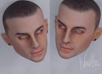 Alex - Agatti dolls -Chester Bennington by NoodlesCZ