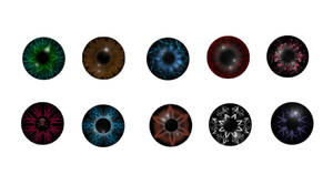 eye iris pupil stock 2 by StarsColdNight