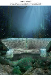 Ocean Bench premade BG by StarsColdNight