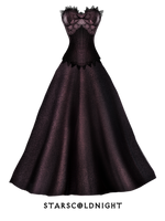 Dress and corset PNG by StarsColdNight