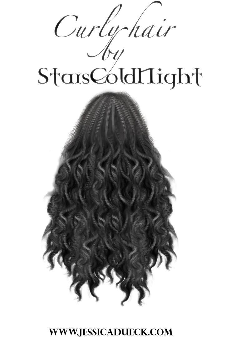 Curly Hair Png By Starscoldnight On Deviantart