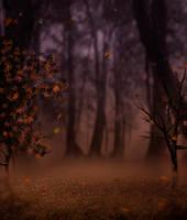 In the mist IV premade BG by StarsColdNight