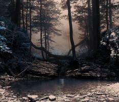 Down the lake premade BG by StarsColdNight