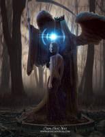 Death goddess by StarsColdNight