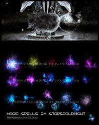 Magic spells by STARSCOLDNIGHT by StarsColdNight